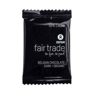 Belgian Dark chocolate minis by Oxfam Fair Trade on Rosette Fair Trade