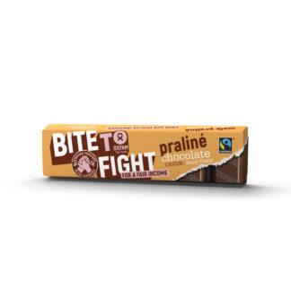 Belgian praline milk chocolate (Oxfam Fair Trade) on Rosette Fair Trade