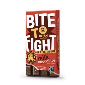 Fair trade Belgian milk chocolate 200g bar from Oxfam Fair Trade on Rosette