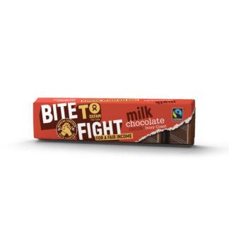 Fair trade Belgian milk chocolate 50g bar from Oxfam Fair Trade on Rosette