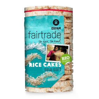 Fair trade rice cakes (Oxfam Fair Trade) on Rosette Fair Trade