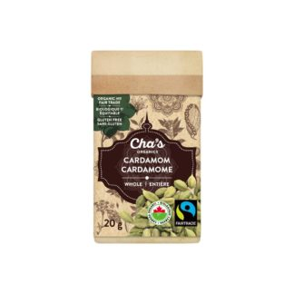 Fairtrade Cardamom by Cha's Organics available on Rosette Fair Trade's online store