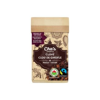 Fairtrade clove (whole ) by Cha's Organics available on Rosette Fair Trade's online store