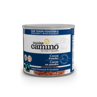 Fairtrade cocoa powder (dutch processed) by Camino available on Rosette Fair Trade's online store