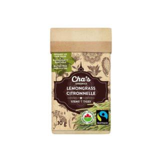 Fairtrade lemongrass by Cha's Organics available at Rosette Fair Trade online store