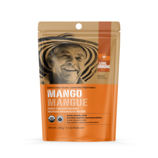 Fairtrade mango (dried) by Level Ground Trading is available on the Rosette Fair Trade online store