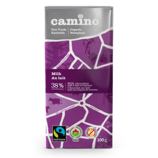 Fairtrade milk chocolate by Camino available on Rosette Fair Trade's online store