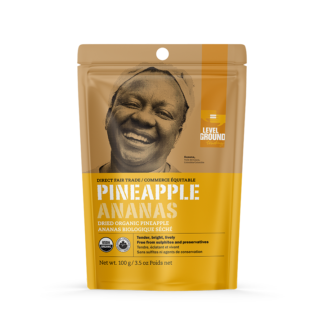 Fairtrade pineapple (dried) by Level Ground Trading is available on the Rosette Fair Trade online store