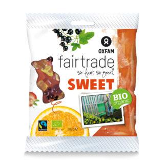 Gummy bears from Oxfam Fair Trade (candy) on Rosette Fair Trade