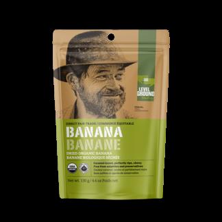 Level Ground dried banana (fair trade, organic) - Rosette Fair Trade