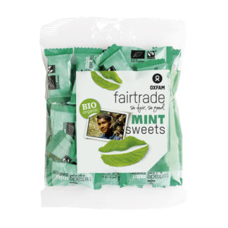 Mint candies by Oxfam Fair Trade on Rosette Fair Trade