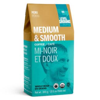 Peru medium roast coffee by Level Ground Trading on Rosette Fair Trade