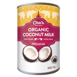 Premium fair trade coconut milk by Cha's Organics on Rosette Fair Trade