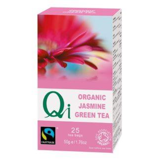 Qi fairtrade jasmine green tea