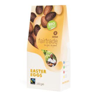 Filled fair trade Easter eggs
