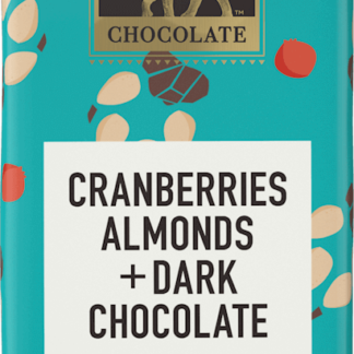 Endangered Species dark chocolate with cranberries and almonds