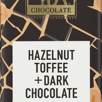 Endangered Species dark chocolate with hazelnut toffee