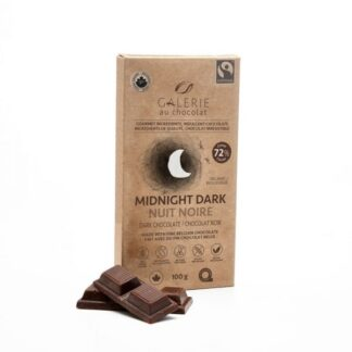 Fair trade 72% dark chocolate by Galerie au Chocolat on the Rosette Network