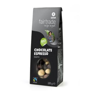 Oxfam chocolate espresso beans